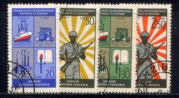 ZANZIBAR, SET, NO.'S 327-330 - Zanzibar (1963-1968)