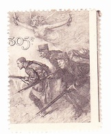 Vignette Militaire Delandre - 305ème Régiment D'infanterie - Vignettes Militaires
