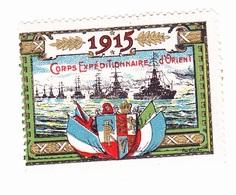 Vignette Militaire Delandre - Corps Expéditionnaire D'orient - Vignettes Militaires