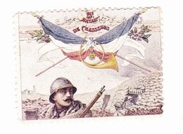 Vignette Militaire Delandre - 25ème Bataillon De Chasseurs à Pied - Vignettes Militaires