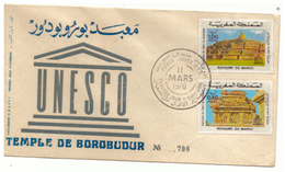 Maroc. 2 FDC. 1973 Et 1976 - Maroc (1956-...)