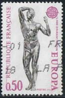 """France 1974 Yv. N°1789 - Europa - """"L'âge D'Airin"""" De Rodin - Oblitéré - Oblitérés"""