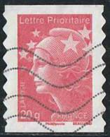 France 2011 AA Yv. N°590 - TVP Rouge - Oblitéré - Adhésifs (autocollants)