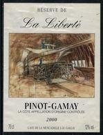 Rare // Etiquette De Vin // Bateau à Voile  // Pinot-Gamay, La Galère - Bateaux à Voile & Voiliers