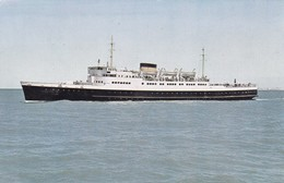 Postcard Ostend Dover Line Prinses Josephine Charlotte [ Shipping / Ferry Interest ] My Ref  B12605 - Ferries