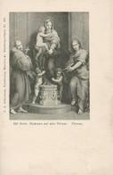 AK Del Sarto - Madonna Auf Dem Throne - Florenz Firenze (38137) - Malerei & Gemälde