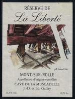 Rare // Etiquette De Vin // Bateau à Voile  // Mont-sur-Rolle, La Galère - Bateaux à Voile & Voiliers
