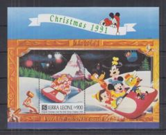 O188. Sierra Leone - MNH - Cartoons - Disney's - Christmas - Disney