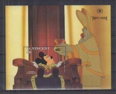 O188. St Vincent - MNH - Cartoons - Disney's - Prince And The Pauper - Disney