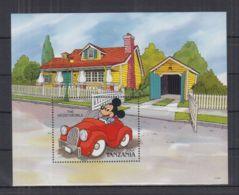O188. Tanzania - MNH - Cartoons - Disney's - Cars - Disney
