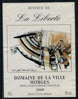 Rare // Etiquette De Vin // Bateau à Voile  // Morges, La Galère - Bateaux à Voile & Voiliers