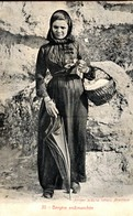 CORSE - Région De BONIFACIO - Une Bergère Endimanchée - Ed. J. Scaglia 1905 - Autres Communes