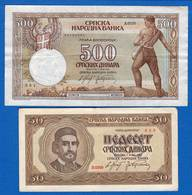 2  Billets - Serbia