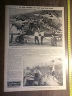 ANNEE 20/30 FIN TRAGIQUE DU RAID NEW YORK PARIS CAPITAINE FONCK - Collections