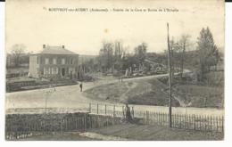 CPA - ROUVROY Sur AUDRY - SCIERIE De La GARE Et ROUTE De L'ECHELLE - ARDENNES - 08 - Autres Communes