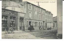 CPA -CHALONS Sur MARNE - LA POSTE - CARTE ANIMEE - MARNE - 51 - Châlons-sur-Marne