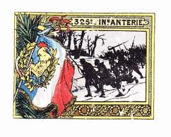 Vignette Militaire Delandre - 325ème Régiment D'infanterie - Vignettes Militaires