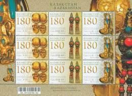 Kazakhstan 2009 Mih. 643/45 Feminine Embellishment. Earrings (M/S) (joint Issue Kazakhstan-Korea-Mongolia) MNH ** - Kazajstán