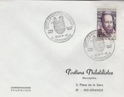 """LSC 1967 - ANNEMASSE - Cachet """"Saint François De Salles"""" Sur YT 1513 - Marcophilie (Lettres)"""