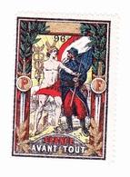 Vignette Militaire Delandre - 96ème Régiment Territorial D'infanterie - Vignettes Militaires