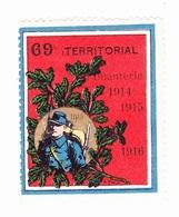 Vignette Militaire Delandre - 69ème Régiment Territorial D'infanterie - Vignettes Militaires