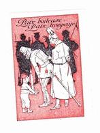 Vignette Militaire Delandre - Patriotique - Paix Boiteuse - Paix Trompeuse - Erinnophilie