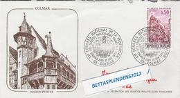 """LSC 1974 - COLMAR  (Maison PFISTER) - Cachet  """"Congrès National De La Fédération...."""" Sur YT 1798 - Marcophilie (Lettres)"""