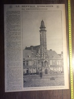 ANNEE 20/30 LE BEFFROI D ORCHIES SA RECONSTRUCTION PREMIER CONGRES FEDERAL ARMENTIERES - Collections