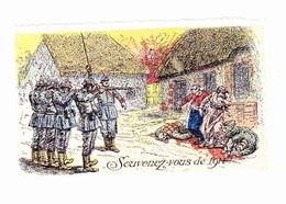 Vignette Militaire Delandre - Patriotique - Souvenez-vous De 1914 - Erinnophilie