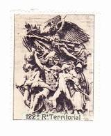 Vignette Militaire Delandre - 122ème Régiment Territorial D'infanterie - Militair