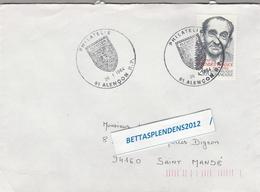 """LSC 1984 - ALENCON - Cachet  """"Philatélie"""" Sur YT 2298 - Marcophilie (Lettres)"""