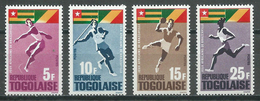 Togo YT N°453/456 Jeux Africains De Brazzaville Neuf ** - Togo (1960-...)