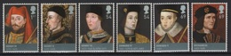 GB - UK (2008) Yv. 2977/82  /  Kings & Queens Dinasty - Familles Royales