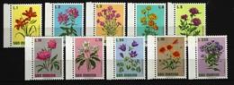 SAN MARINO Mi-Nr. 984 - 993 Blumen Postfrisch - San Marino