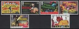GB - UK (2008) Yv. 3030/35   /  Dracula - Frankenstein - Cinema - Cinema