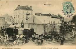 121218 - 63 ISSOIRE Place De La Caserne - Roulotte Cirque Chapiteau - Issoire