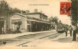 121218 - 63 ISSOIRE La Gare - Train Locomotive N°930 Chef De Gare - Issoire