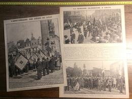 ANNEE 20/30 L ANNIVERSAIRE DES SIEGES DE LILLE COLONNE COMMÉMORATIVE - Collections