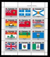 Canada 1979 Block Provinces MNH Block (c48) - Blokken & Velletjes