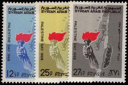 Syria 1968 Palestine Day Unmounted Mint. - Syria