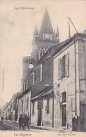 VIC BIGORRE. RUE DU CHATEAU. A VILLATTE. CIRCA 1900s NON CIRCULEE- BLEUP - Vic Sur Bigorre