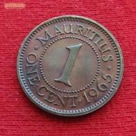 Mauritius 1 Cent 1965 KM# 31 Mauricia Maurice - Maurice