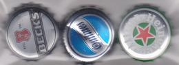Tappo A Corona - Birre Beck's, Quilmes, Heineken - Birra