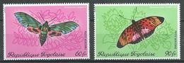 Togo Poste Aérienne YT N°139/140 Papillons Neuf ** - Togo (1960-...)