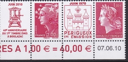 Timbre N° 4461** & 4462** - France
