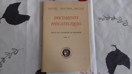 Documents Philatéliques Janvier-avril 1968  Numéros 35 Et 36 - Magazines