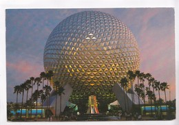 Spaceship Earth, Epcot Centre, Walt Disney World 1986 Used Postcard [22403] - Disneyworld