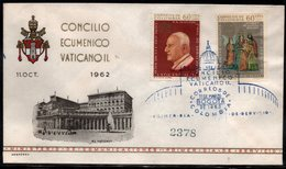 COLOMBIA- KOLUMBIEN - 1963.FDC/SPD. RELIGIOUS - SECOND VATICAN ECUMENICAL COUNCIL - Colombia