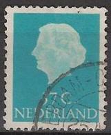 1953 Koningin Juliana 37 Ct NVPH 626 Gestempeld/ Cancelled - Oblitérés