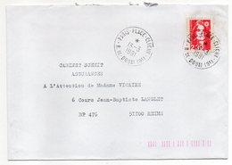 1991--lettre De PARIS PLACE CLICHY-75  Pour REIMS-51-type Marianne Bicentenaire--cachet Rond à étoile - Marcophilie (Lettres)